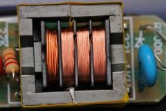 Трансформатор штепсельной вилки в ionizer Стоковые Фотографии RF