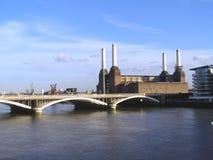 трансформатор london battersea Стоковое Изображение RF