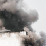 трап пожарного пожара здания вне кладет Стоковые Фото