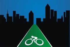 Трасса велосипеда Стоковое Фото