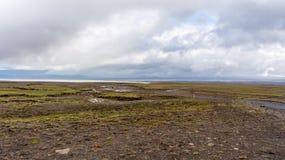Трасса гористой местности Kjölur Стоковое Изображение RF