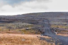 Трасса гористой местности Kjölur Стоковые Фото