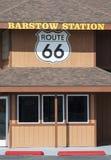 Трасса 66 станции Barstow стоковое изображение rf