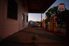 Трасса 66 США на дороге стоковые фото
