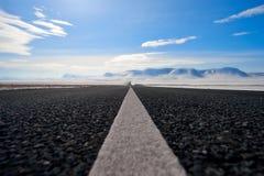 Трасса шоссе в Сибире Стоковое Изображение