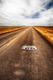 Трасса 66 шоссе Техаса Стоковые Фото