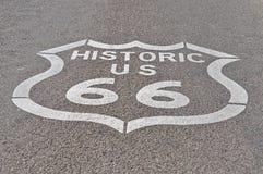 трасса 66 Стоковое Изображение RF