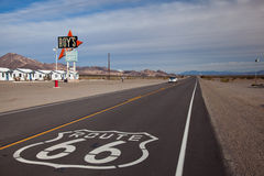 Трасса 66 Стоковое Изображение