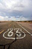 трасса 66 Стоковая Фотография