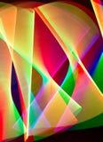 Трассировки света Стоковые Изображения