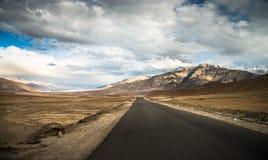 Трассы в Ladakh Стоковое фото RF
