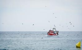 Траулер рыболовства Стоковые Изображения RF