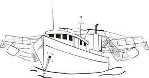 Траулер рыбной ловли Стоковые Фотографии RF