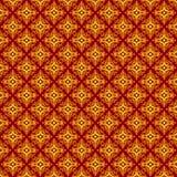 Традиционная абстрактная картина батика Стоковое фото RF