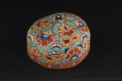 Традиционная азиатская тюбетейка Стоковые Фото