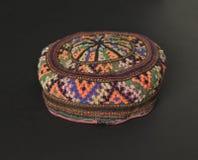 Традиционная азиатская тюбетейка Стоковое Изображение RF