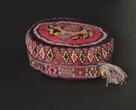 Традиционная азиатская тюбетейка Стоковое фото RF