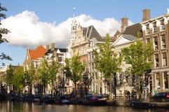 Традиционная архитектура Амстердама Стоковое Фото