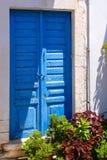 Традиционная архитектура деревни Chora на острове Kythera, Gre Стоковое фото RF