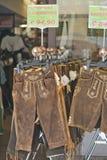 Традиционная баварская одежда Стоковые Изображения