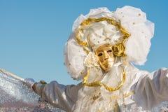 Традиционная венецианская carneval маска стоковые фотографии rf