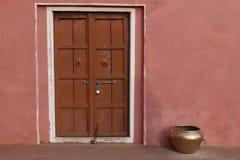 Традиционная дверь Стоковая Фотография