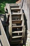 Традиционная вод-мельница тимберса стоковые изображения rf