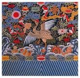 Традиционная вышивка Стоковая Фотография