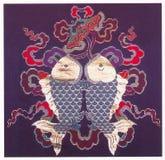 Традиционная вышивка Стоковое Изображение RF