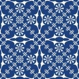 Традиционная голубая предпосылка Стоковое Изображение RF