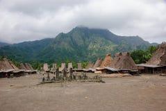 Традиционная деревня Bena Стоковая Фотография RF