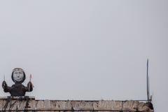 Традиционная деревня Bena Стоковые Фотографии RF