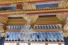 Традиционная деревянная картина в Индонезии Стоковые Фотографии RF