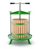 Традиционная зеленая пресса плодоовощ Стоковая Фотография RF