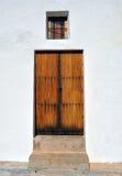 Традиционная испанская дверь Стоковая Фотография RF