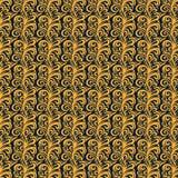 Традиционная картина батика флоры Стоковые Изображения RF