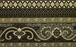 Традиционная картина батика Стоковые Фотографии RF