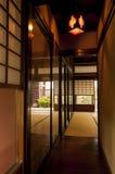 Традиционная комната дома периода Эдо японца на Киото Стоковая Фотография RF