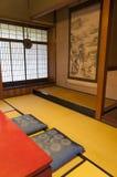 Традиционная комната дома периода Эдо японца на Киото Стоковые Фотографии RF