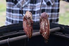Традиционная копченая ветчина Стоковые Фотографии RF
