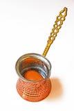 Традиционная кофеварка от Боснии Стоковые Изображения RF