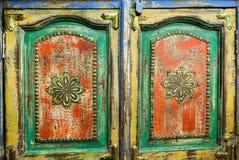 Традиционная мебель сделанная вручную в Индии стоковое изображение
