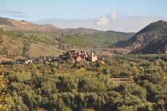 Традиционная морокканская деревня стоковые изображения
