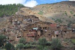 Традиционная морокканская деревня стоковое изображение