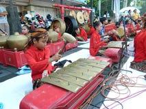 Традиционная музыка javanese Стоковые Изображения