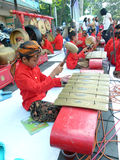 Традиционная музыка javanese Стоковые Фотографии RF