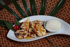 Традиционная названная закуска Макассара epe pisang Стоковые Фото