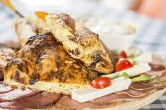 Традиционная органическая еда Стоковое Изображение RF