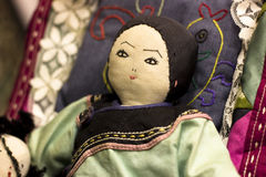 Традиционная первоначально syberian кукла Религиозная марионетка цели Sc стоковое фото