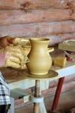 Традиционная польская гончарня Стоковые Изображения